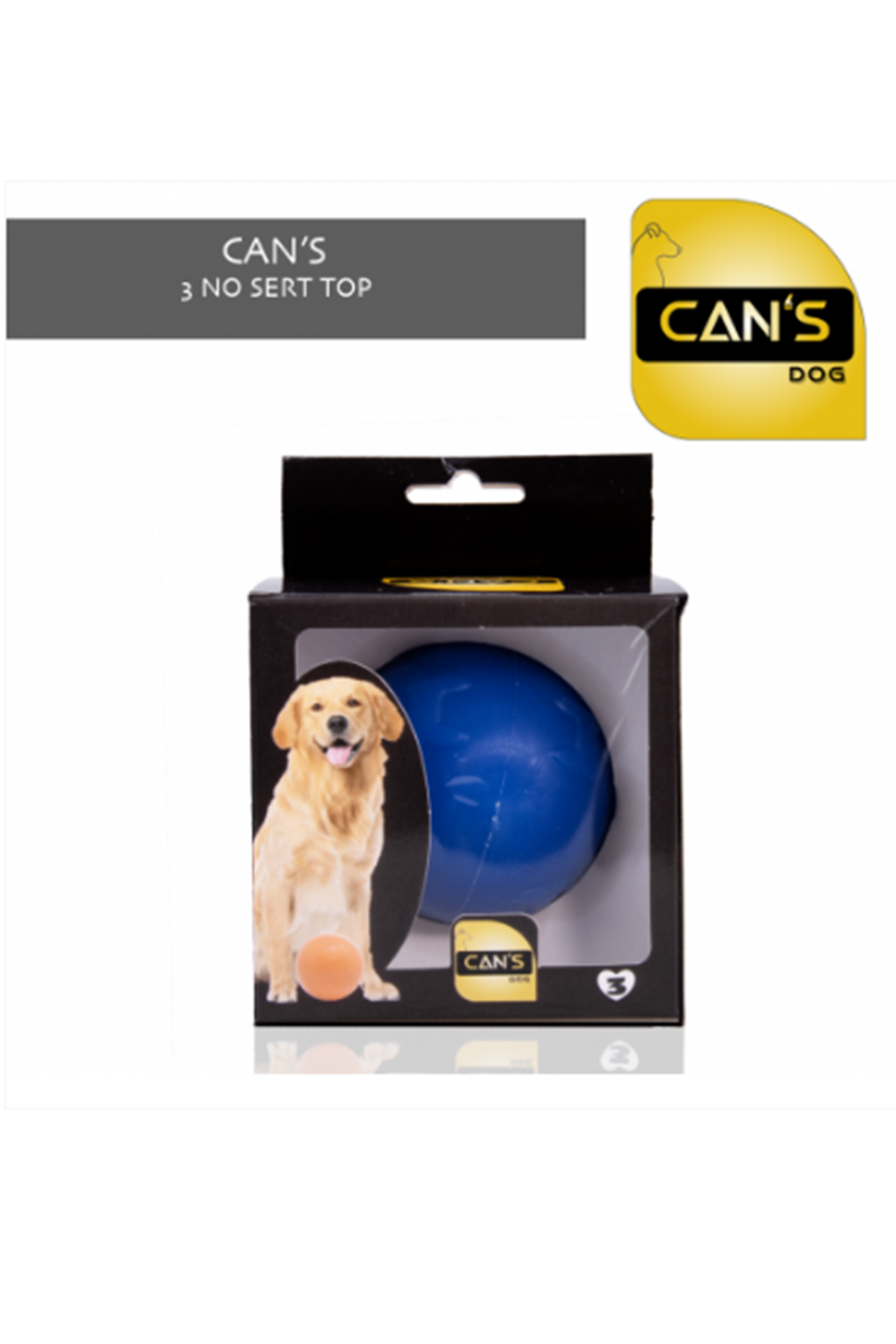 CAN'S DOG BALL (3 NO)